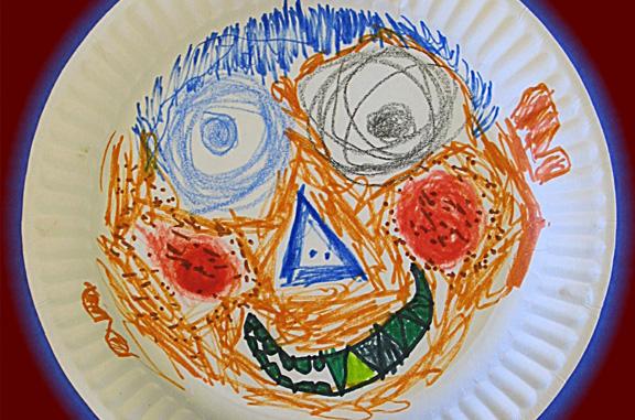 Paper Plate Face Rathfarnham Day Care Creche