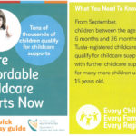 More Affordable Childcare Starts Now