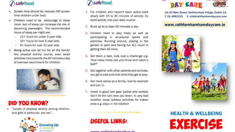 HEALTH & WELLBEING Exercise